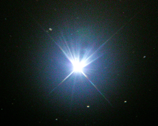 luminosity of star vega-#40